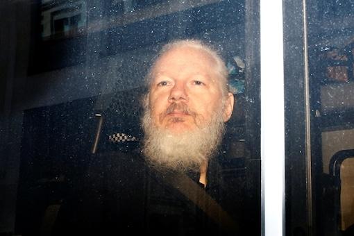File photo of iWikiLeaks founder Julian Assange.