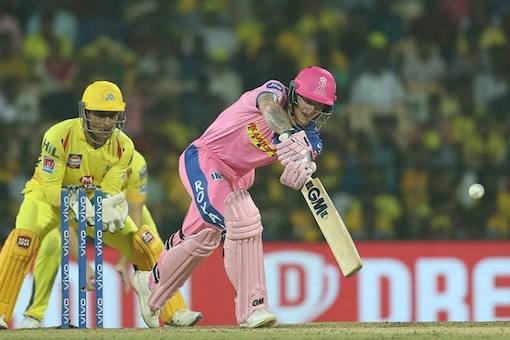 Ben Stokes during his innings of 46. (IPL T20)