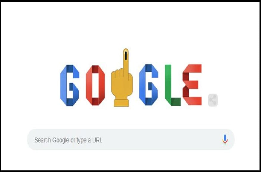Lok Sabha Election 2019: Google Explains Poll Process with Doodle for Phase 7