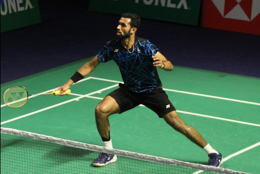 File photo of HS Prannoy. (Photo Credit: BAI)