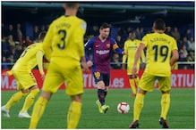 Lionel Messi and Suarez's Late Show Rescues Barcelona in 4-4 draw at Villarreal