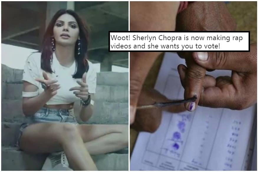 Sherlyn Chopra Has Dropped an Election Rap Called 'Vote Daal' and it's 'Bohot Hard'
