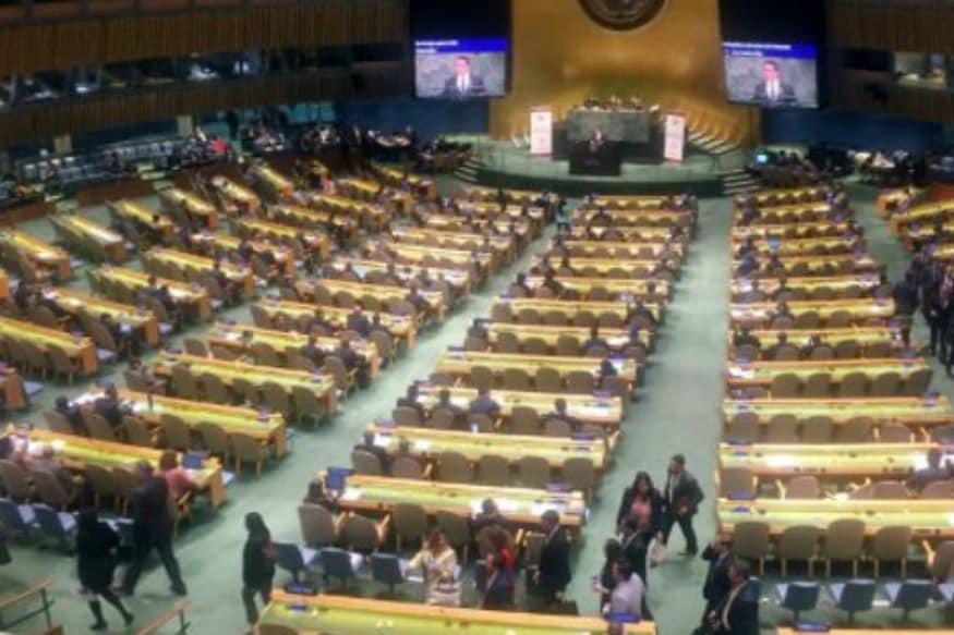 Diplomats Walk Out as Venezuela Hits US in UN Speech