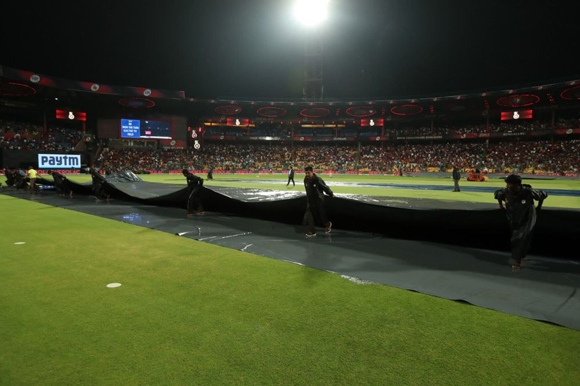 In Pics, Match 49, Royal Challengers Bangalore vs Rajasthan Royals