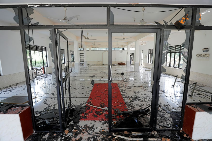 PICS: Mobs Attack Mosques, Muslim-Owned Shops in Sri Lanka