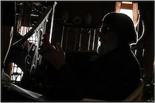 Amitabh Bachchan Teases Fans with a Silhouette Picture from Sets of Chehre, See Here