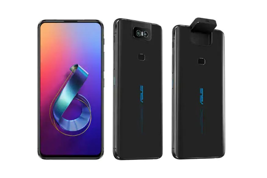 Asus ZenFone 6 With Unique Flip-Camera, Snapdragon 855 Goes Official