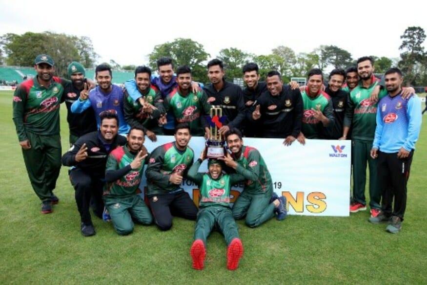 In Pics | West Indies vs Bangladesh in Dublin, Tri-series Final