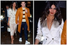 Priyanka Chopra Steals the Show in Satin Blazer During Jonas Brothers Performance