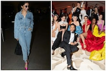 Met Gala: Deepika Padukone Flaunts Denim Jumpsuit Enroute to New York