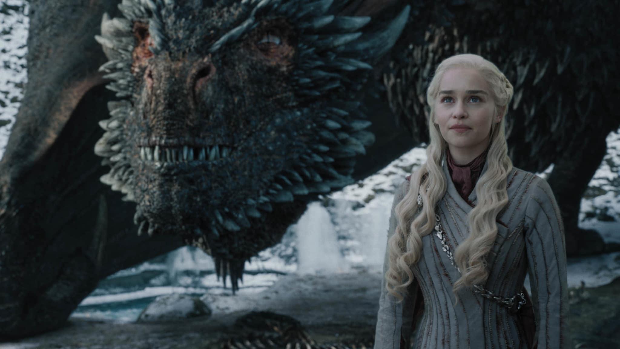 Emilia Clarke in Ep 04 of GoT S08