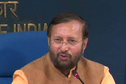 File photo of Minister of Information and Broadcasting Prakash Javadekar. (Twitter)