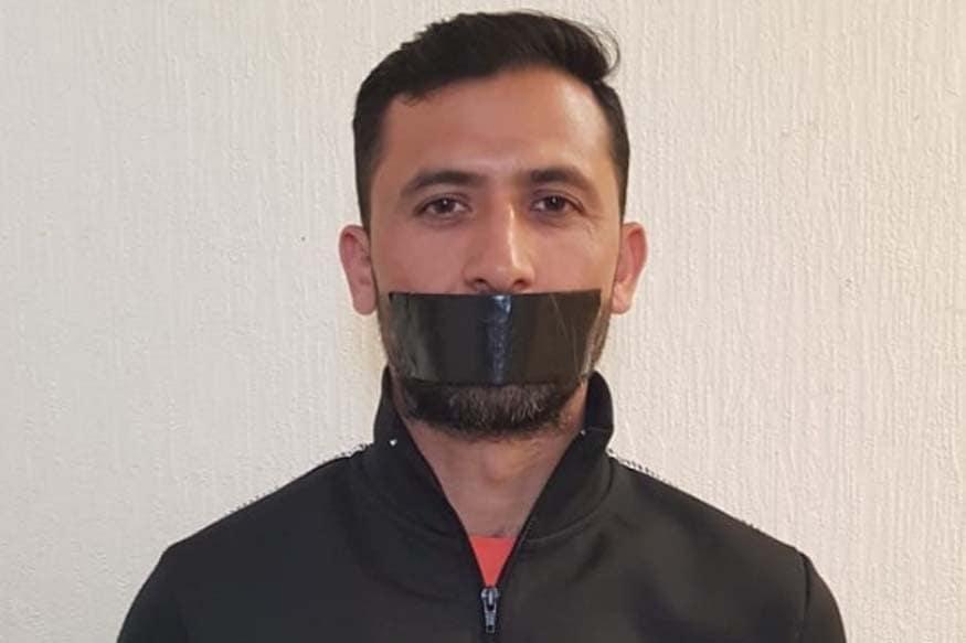 Pakistan fast bowler Junaid Khan.