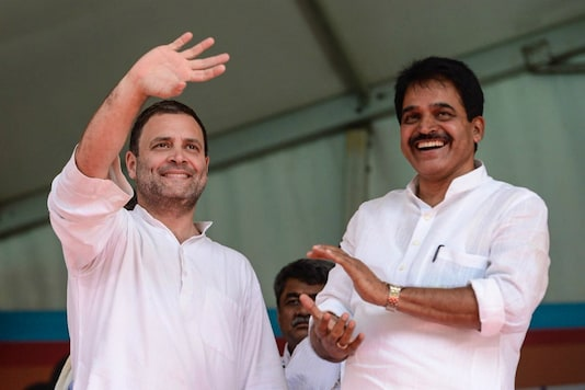 A file photo of Rahul Gandhi and AICC general secretary KC Venugopal(right).  Earlier, Gandhi had also taken a dig at PM Modi.  (Special Arrangement)