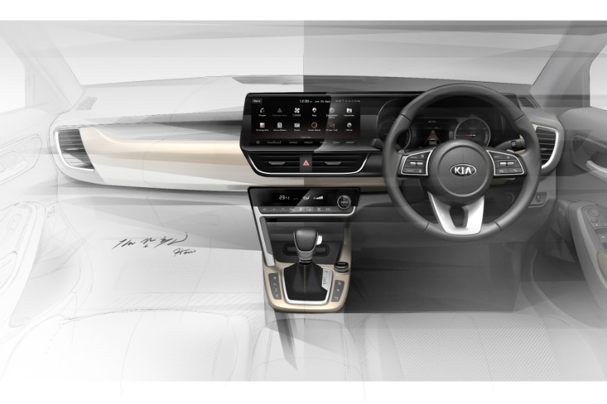 Kia SP2i SUV interiors revealed. (Image: Kia Motors)