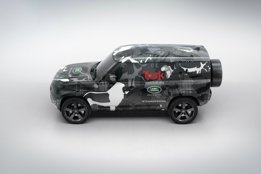 Land Rover Defender Tusk. (Image: Land Rover)