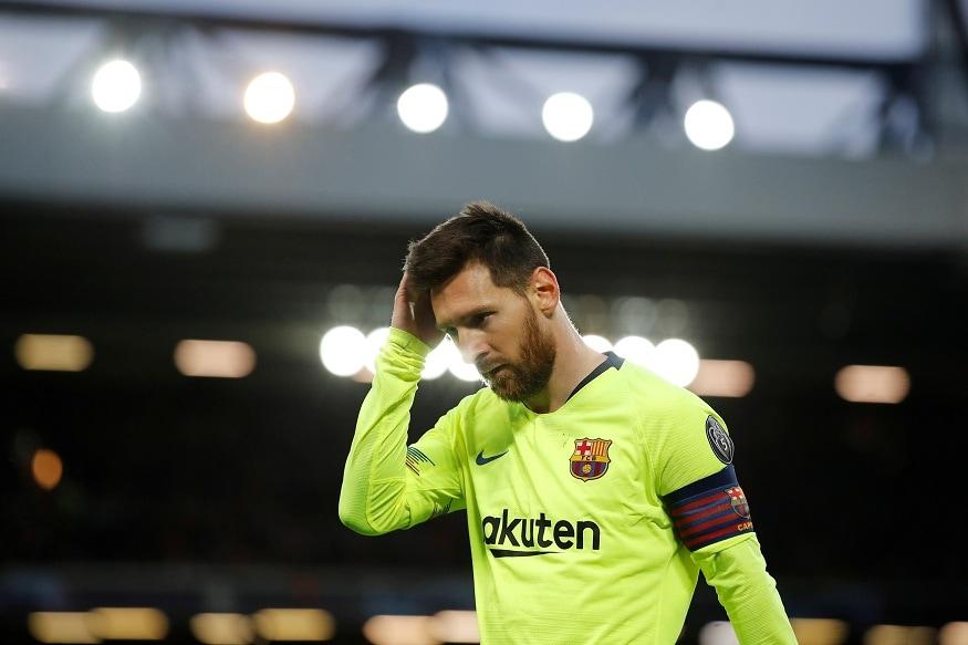 Champions League Semi Final Second Leg - Liverpool v FC Barcelona-Lionel-Messi-Reuters