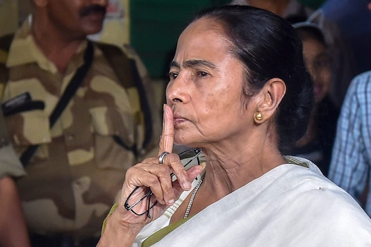 File photo of West Bengal Chief Minister and TMC Supremo Mamata Banerjee. (Image: PTI)