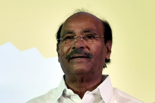 File Photo of PMK Party Founder S Ramadoss. (IANS)