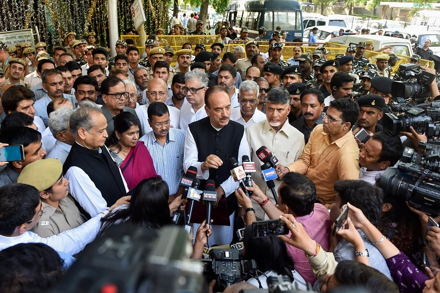 Opposition Leaders Meet EC Ahead of Result Day, Demand VVPAT Verification Before Counting