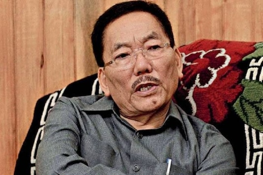 File photo of SDF Chief and Chief Minister of Sikkim. Pawan Chamling.
