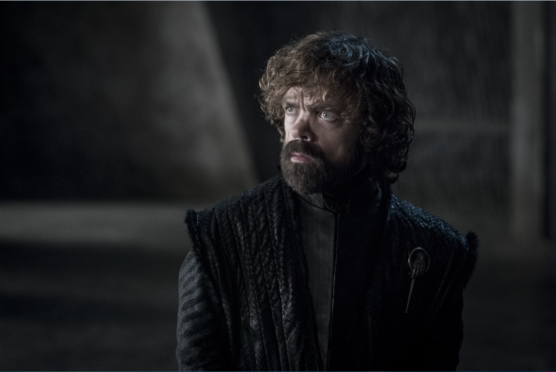 Peter Dinklage in a still from Game of Thrones