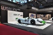 Porsche Unveils the Restored 917-001 Car