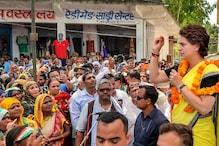 Priyanka Gandhi Vadra Addresses SP Meeting in Rae Bareli; See Pics