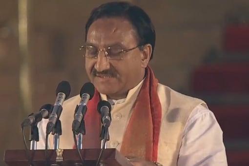 File photo of HRD minister Ramesh Pokhariyal Nishank.