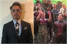 Robert Downey Jr Shares Unseen BTS Video of Avengers Endgame Cast Celebrating Iron Man's Birthday