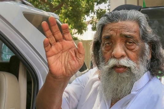 Jharkhand former chief minister and Mukti Morcha (JMM) party supremo Shibu Soren. (PTI)