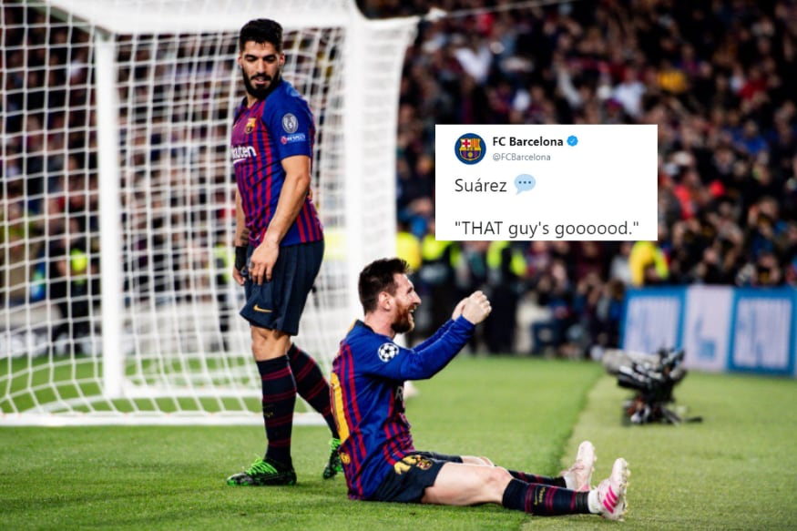 Twitter Goes Berserk after Unstoppable Messi Scores His