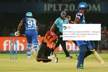 Twitter Runs After Amit Mishra With Memes For Obstructing the Field in IPL Eliminator