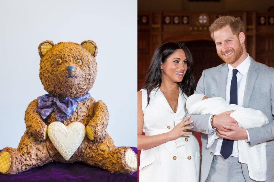 Sweet: 28 Kg Teddy Bear Made Entirely of Chocolate Created to Celebrate Royal Baby Archie