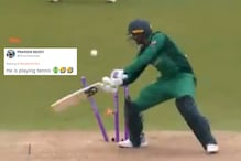 Shoaib Malik Smashing the Stumps With His Bat Against England is a Hit on Twitter