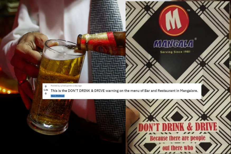 This Indian Bar's Hilarious 'Don't Drink and Drive' Warning