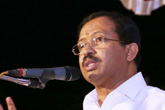 File photo of Minister of State for External Affairs  V Muraleedharan.