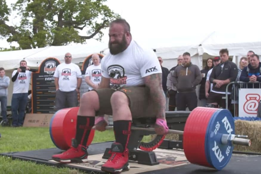 Disabled Army Veteran Picks Up 505 Kg For Seated Deadlift