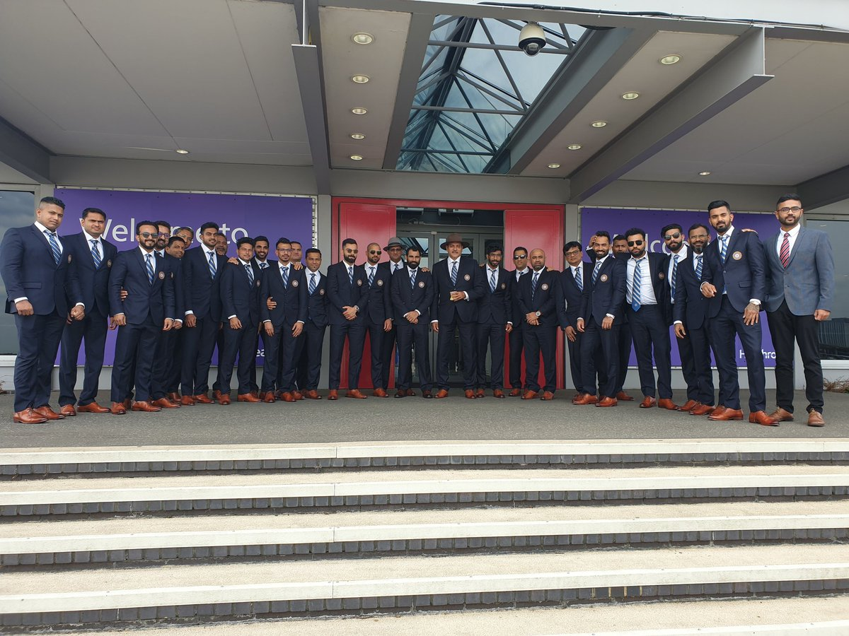 In Pics| Team India Leaves For World Cup