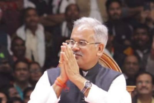 File photo of Chhattisgarh CM Bhupesh Baghel.