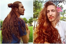 Brazilian Model Grows Hair for 7 Years, Internet Christens Him 'Rapunzel'