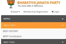 Delhi BJP Website Hacked, Beef Pictures Posted