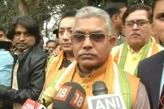 File photo of Bengal BJP chief  Dilip Ghosh. (Image: ANI Twitter)