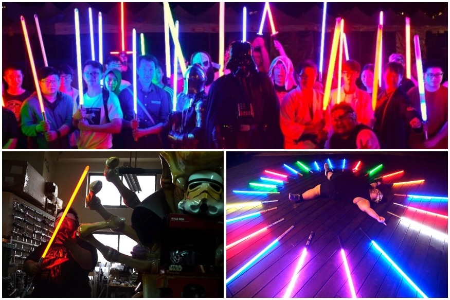 Attack of the 'Clones': Frustrated Star Wars Fan Designs Own Lightsaber, a Hit on May the 4th