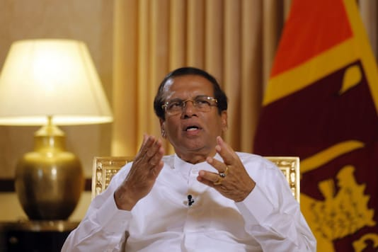 File photo of Sri Lankan President Maithripala Sirisena  (AP/PTI)