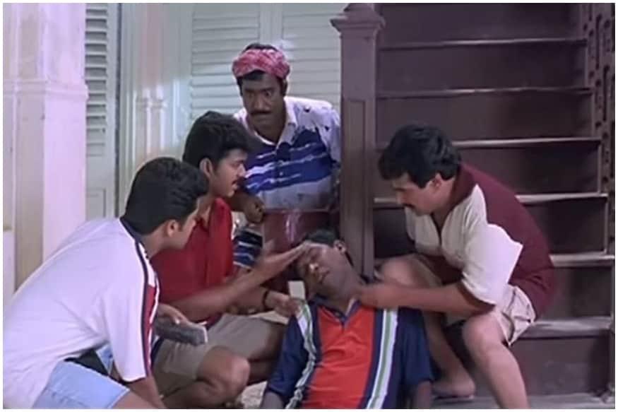 pray for neasamani  memes on tamil film character