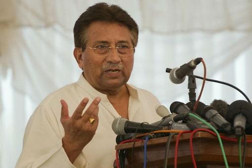 File image of Former Pakistan President Pervez Musharraf.