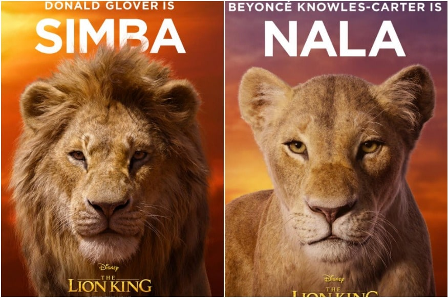 the lion king  see all the character posters for disney u0026 39 s