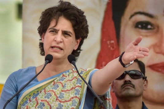 File photo of Congress leader Priyanka Gandhi.
