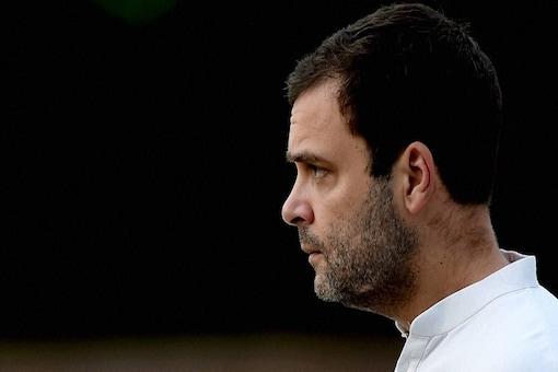 File photo of Congress chief Rahul Gandhi. (PTI)
